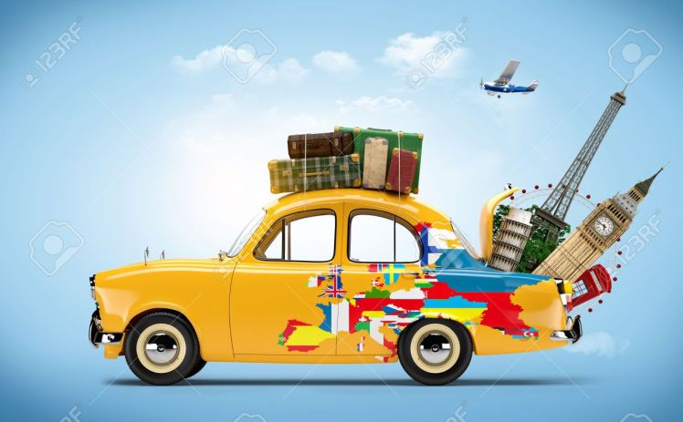 22478761-Travelling-by-car-Famous-monuments-of-Europe-Stock-Photo-travel-collage-car